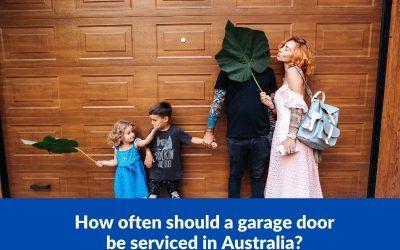 How often should a garage door be serviced in Australia?