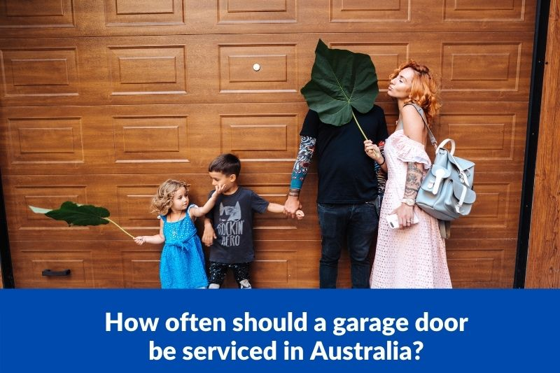 How often should a garage door be serviced in Australia?