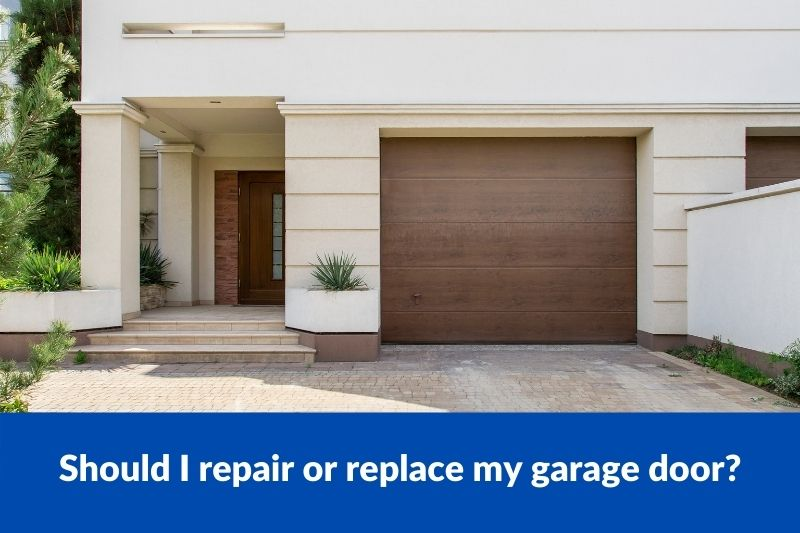 Should I repair or replace my garage door?